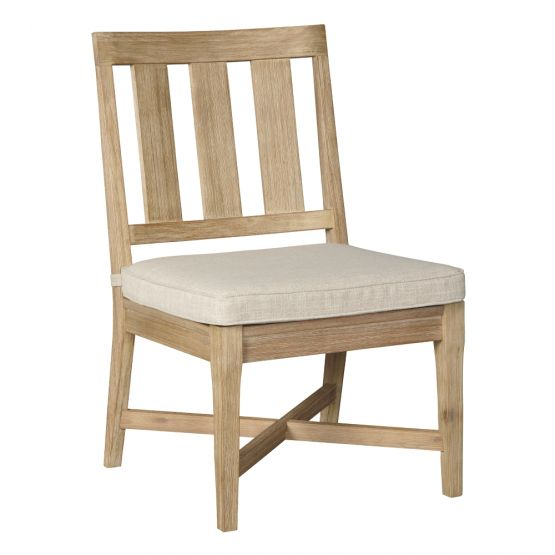 Clare View Beige Chair With Cushion (2/Cn) on Clare View Beige Outdoor Living Room id=33949